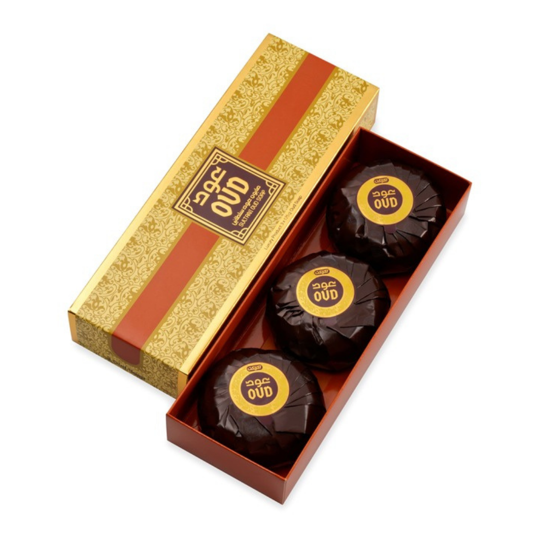 Oud Luxury Collection  Oud Soap - Hareemi (3Pc Pack)