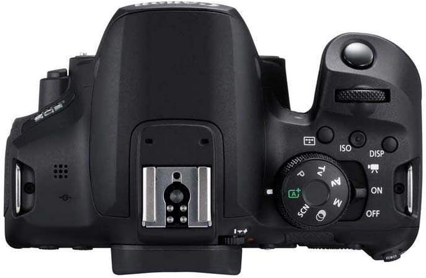 Canon EOS 850D DSLR Camera with EF-S18-55mm f/4-5.6 IS STM Lens, 24.1 MP, Black