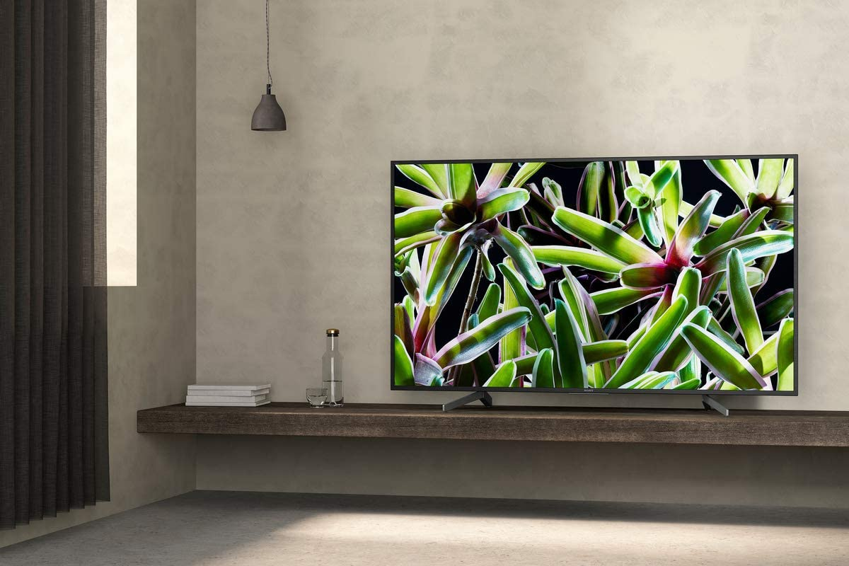 Sony BRAVIA 55 inch X7000 4K HDR Smart TV, with 4K X-Reality Pro picture processing- Black