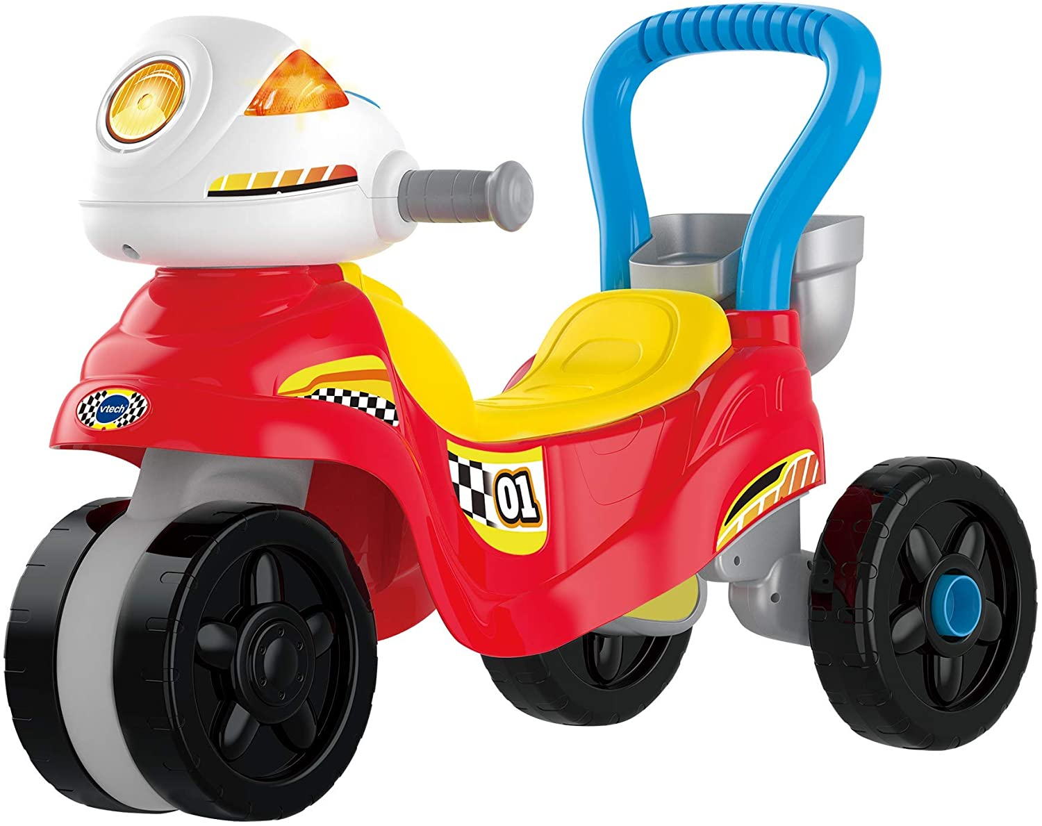 VTech 3-In-1 Ride With Me Motorbike - Red