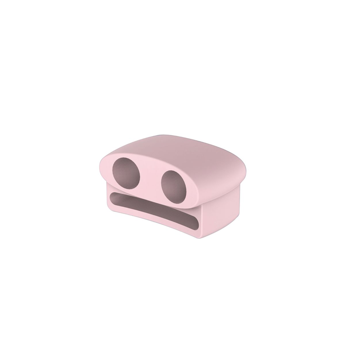 Promate AirPods Watch Band Holder, Anti -Lost Shockproof Silicone Watch Strap w/ Sweat-Resistant for Apple AirPods and AirPods 2, Apple Watch - Pink