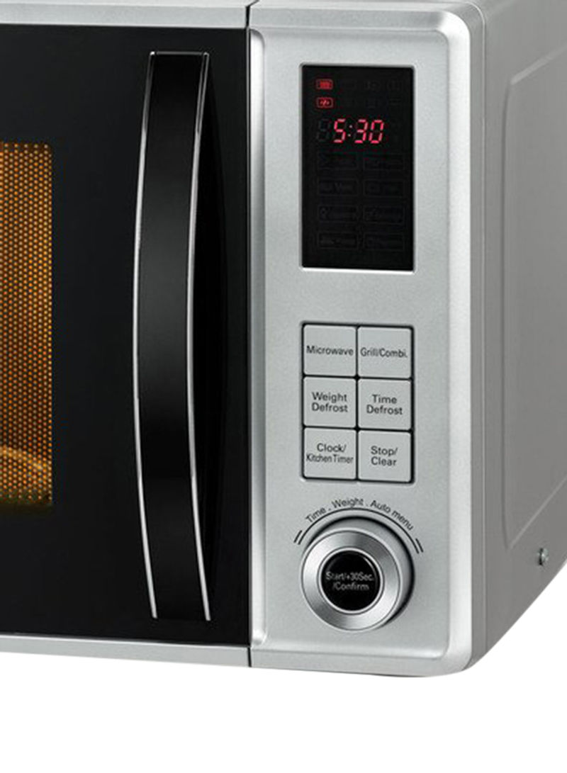 BLACK+DECKER Microwave Oven 23L With Grill And Defrost Function MZ2310PG-B5 White