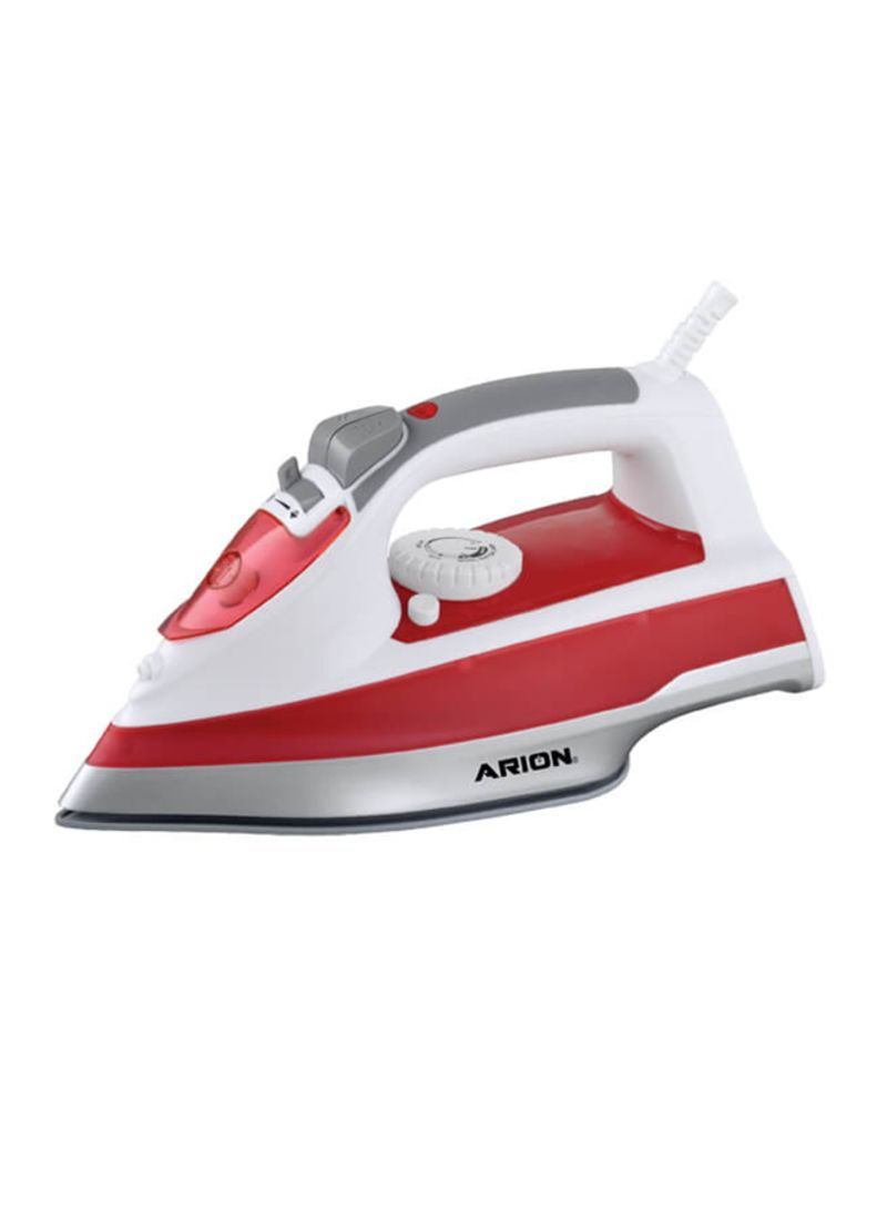 Arion Electric  Ceramic Steam Iron 2200W AR-401 Red/White