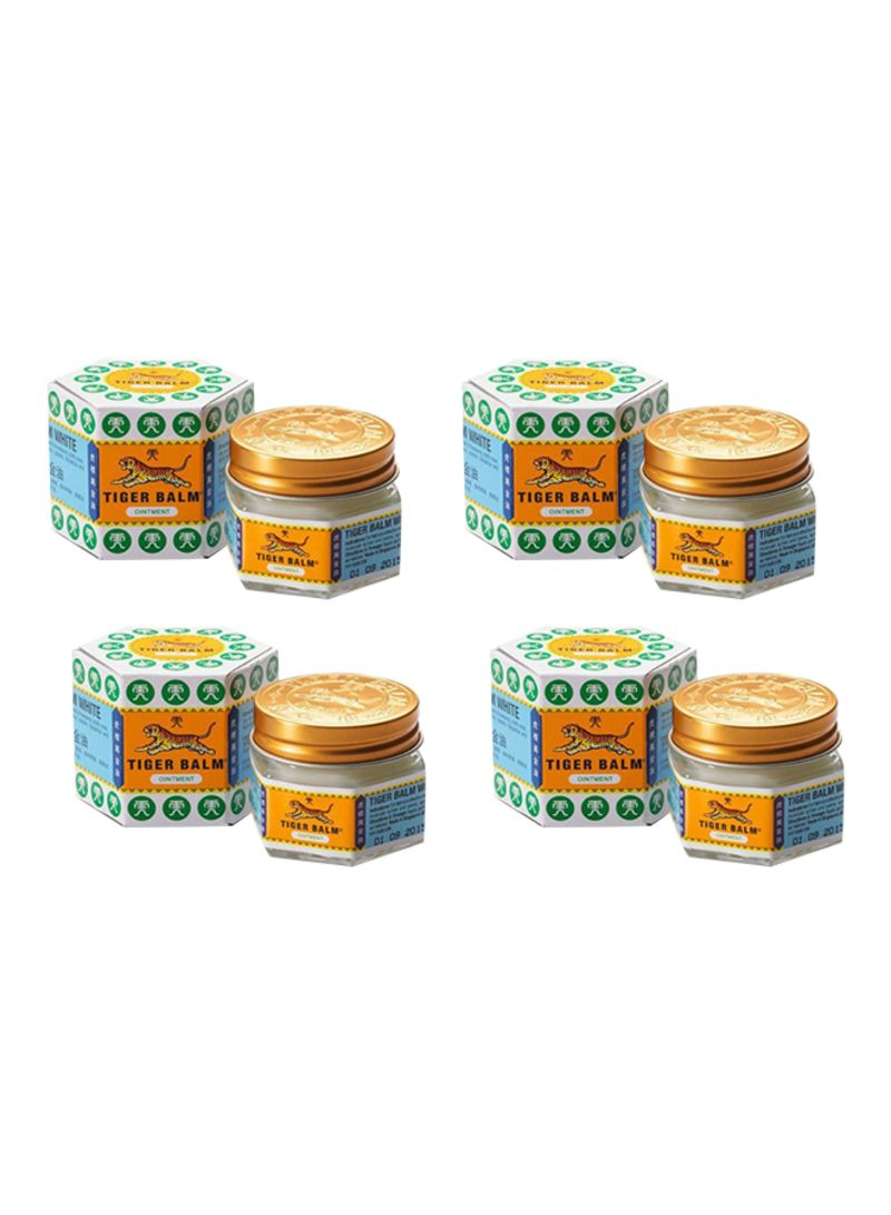 TIGER BALM Pack Of 4 Pain Relief Ointement