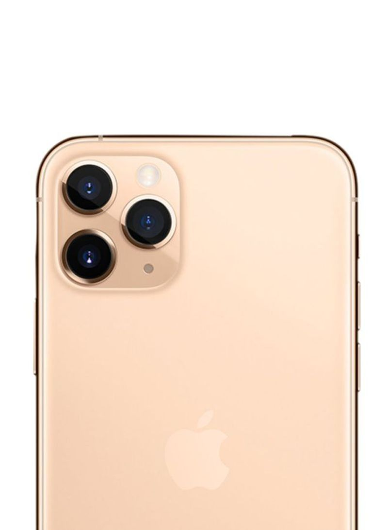 Apple iPhone 11 Pro Max with FaceTime - 4G LTE, Gold - 256GB (International Version)