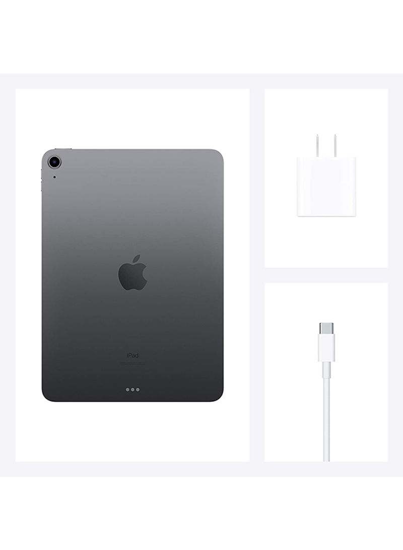 Apple iPad Air - 2020 (4th Generation) 10.9inch 64GB WiFi Space Gray with Facetime - International Specs