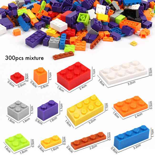 UKR Building Blocks Table Multifunctional 300 Pcs